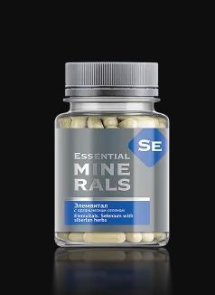 Комплекс витаминов с селеном Элемвитал с органическим селеном капс.60- защита печени