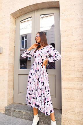 Красивое цветочное платье, фото 2