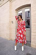Красивое цветочное платье, фото 3
