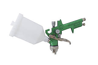 Краскопульт пневматический HVLP Intertool - 600 мл x 1,7 мм верхний бак (PT-0119), (Оригинал)