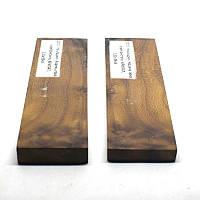 Накладки стабилизированная древесина Корень лоха серебристого, КРИЛАТ, 131х39х9, фото 1