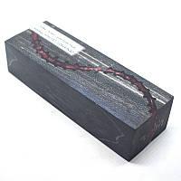 Стабилизированная древесина брусок Клен серебристый, гибрид, КРИЛАТ, 128x43x30, фото 1