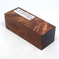 Стабілізована деревина брусок Кап в'яза (карагач, берест), КРИЛАТ, 106x39x36, фото 1