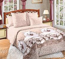 """Комплект постельного белья """"Джесси с компаньоном"""" цельный, перкаль"""