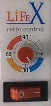 Напольный керамический обогреватель LIFEX ПКП800R (бежевый) + мех. терморегулятор с кнопкой, фото 2