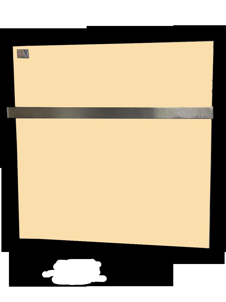Керамический полотенцесушитель с терморегулятором LIFEX ПСК400 (бежевый)