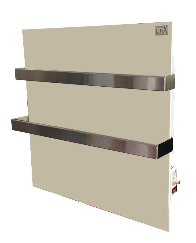 Керамический полотенцесушитель с терморегулятором LIFEX ПСК400R Duo (бежевый)