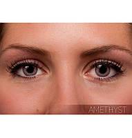 Серые цветные контактные линзы FreshLook Colorblends Amethyst