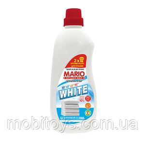 """Для стирки жидкий """"Марио"""" 1л.Для белого (10шт. / Уп.)"""