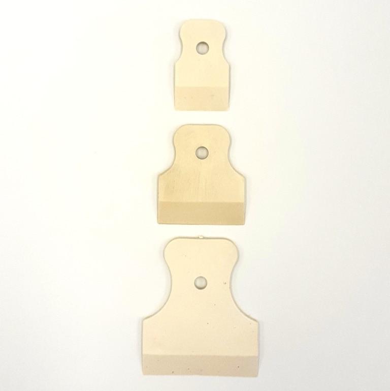 Шпатели резиновые набор 3 шт HTools, 19K503