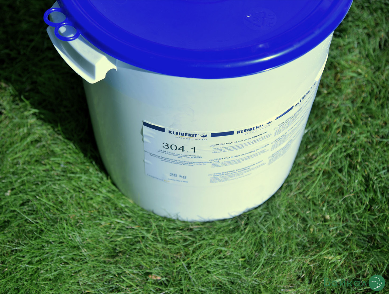 2-х компонентный клей KLEIBERIT 304.1 —  группа нагрузки D4 для водостойких соединений (ведро 9,5 кг)