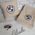 """Автомобільні плед в чохлі з логотипом """"BMW"""" колір на вибір, фото 3"""