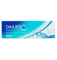 Однодневные контактные линзы Alcon Dailies AquaComfort Plus 30шт.