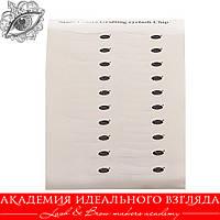 Виниловые патчи под глаза / Фиксатор  для защиты нижних ресниц (1 лист -10 пар)