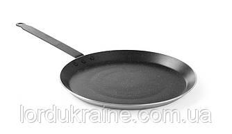 Сковорода для млинців алюмін. профілю. з антипригарним покриттям «Marble Professional», Ø320x(H)20 мм Hendi