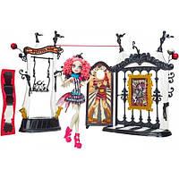 Кукла Monster High Набор Цирковое представление и Рошель Гойл - Circus Scaregrounds and Rochelle Goyle