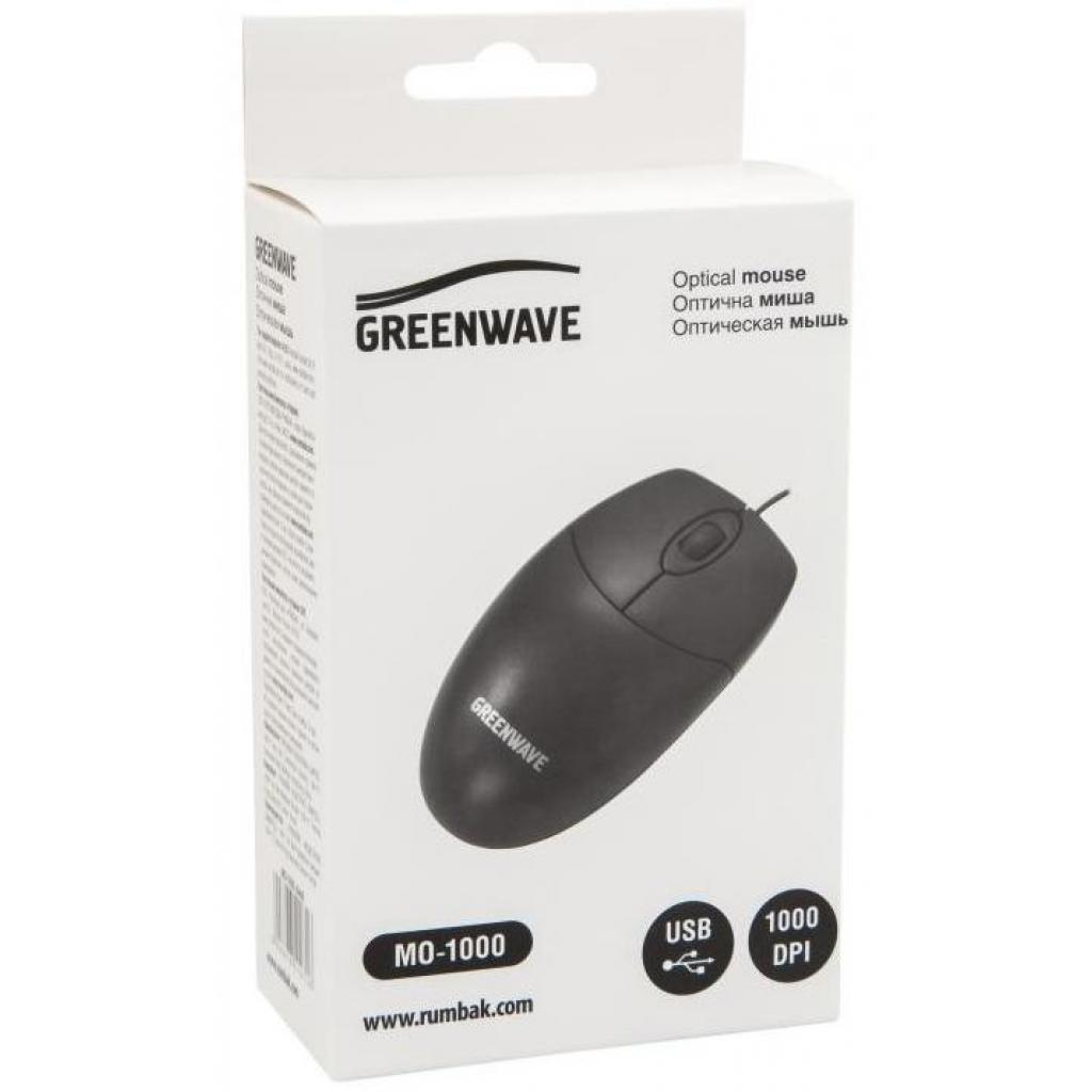 Миша Greenwave MO-1000 USB Black