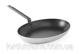 Сковорода овальна для риби «Marble Professional», 400x280x(H)55 мм Hendi