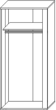Шкаф 2Д Адель Сокме, фото 2
