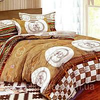 Евро комплект постельного белья из полисатина
