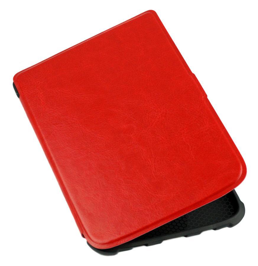 Чехол для PocketBook 616 Basic Lux 2 красный – обложка на электронную книгу Покетбук