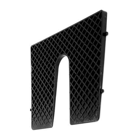 Транцевая регулировочная пластина 450х360 мм Lalizas 195139 черная, фото 2