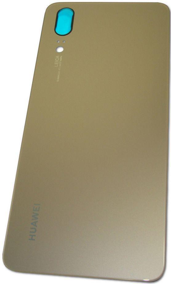 Задняя крышка корпуса Huawei P20 Gold