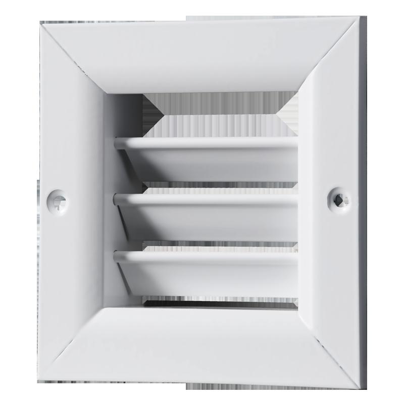 Решетка вентиляционная алюминий ОРГ 350*350 Вентс белая