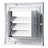 Решетка вентиляционная алюминий ОРГ 350*350 Вентс белая, фото 2