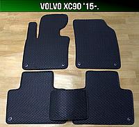 ЕВА коврики Volvo XC90 '15-. Ковры EVA Вольво хс90 хц90, фото 1