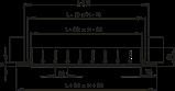 Решетка вентиляционная алюминий ОРГ 350*350 Вентс белая, фото 3