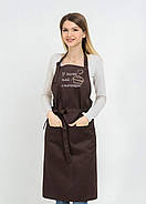 Фартук Latte подарочный | Фартук с вышивкой, фото 5
