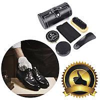 Дорожный набор для ухода за обувью, Подарочный наборы аксессуаров для чистки обуви, Обувные щетки и губки