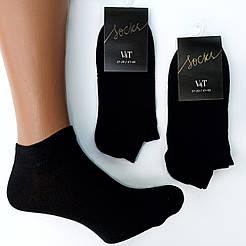Короткие мужские носки V&T socks/ Украина, Хмельницкий Черный, 25-27