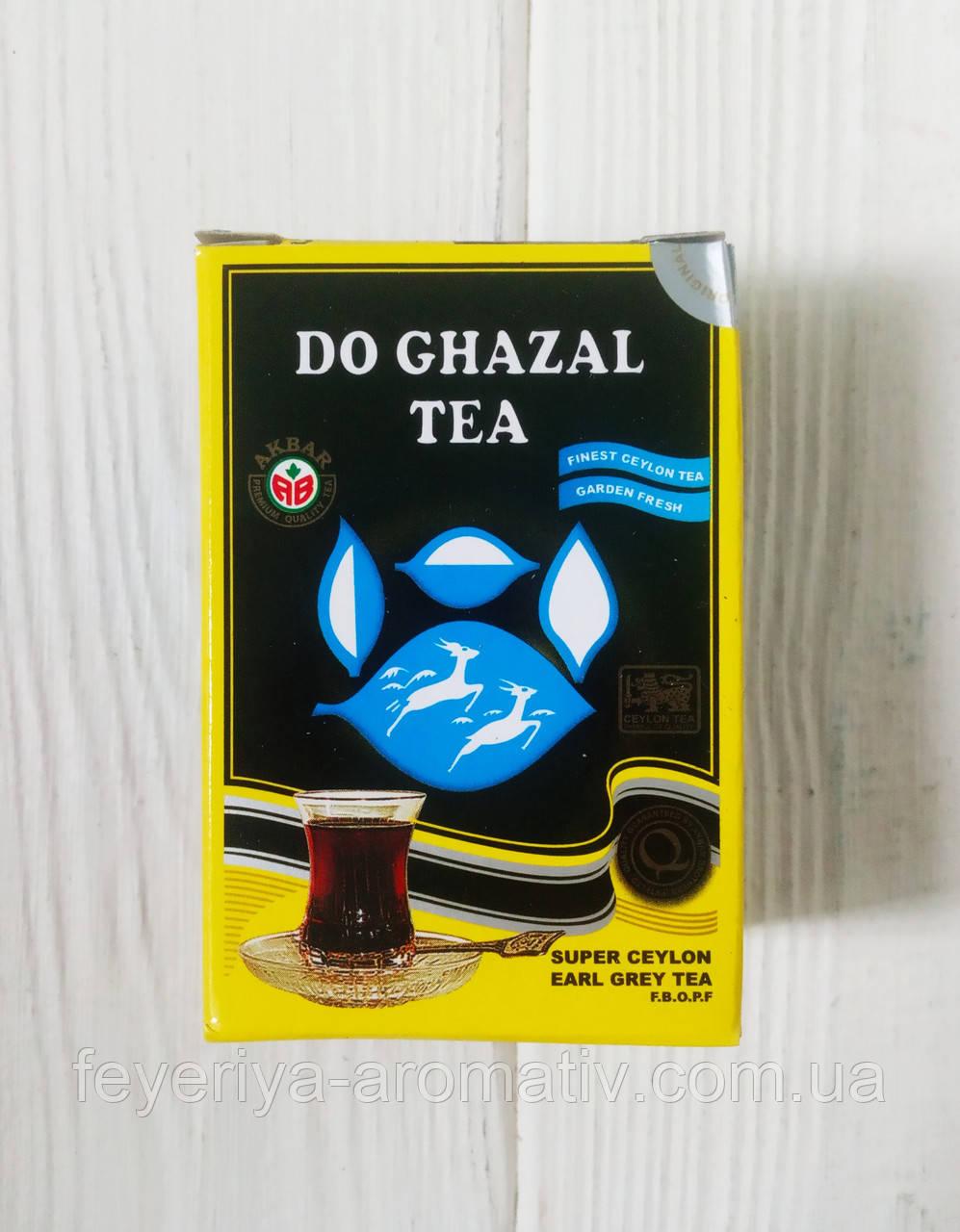 Супер цейлонский чай с бергамотом earl grey Do Ghazal tea, 25гр (Германия)