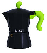 Кофеварка гейзерная Con Brio CB-6603 150 мл