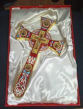 Хрест Мальтійський з емаллю