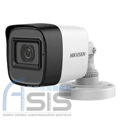 2Мп Turbo HD видеокамера Hikvision с встроенным микрофоном DS-2CE16D0T-ITFS (3.6 мм)