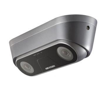 Видеокамера c двумя объективами и функцией подсчета людей iDS-2XM6810F-I/C (2.0мм)