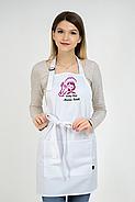 Фартук Latte для повара   Фартук с вышивкой, фото 5
