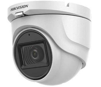 2Мп Turbo HD видеокамера Hikvision с встроенным микрофоном DS-2CE76D0T-ITMFS