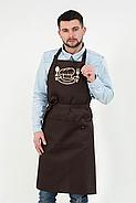 Фартук Latte для повара   Фартук с вышивкой, фото 6