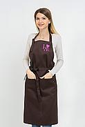 Фартук Latte для повара   Фартук с вышивкой, фото 9