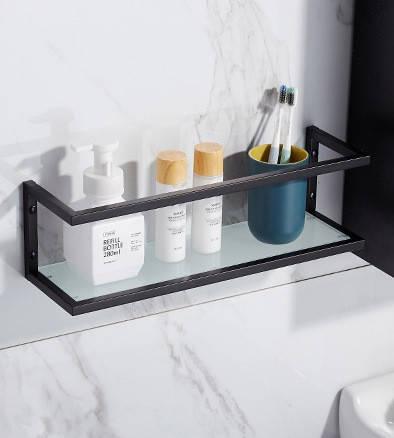 Стеклянная полка для ванной комнаты. Модель RD-567