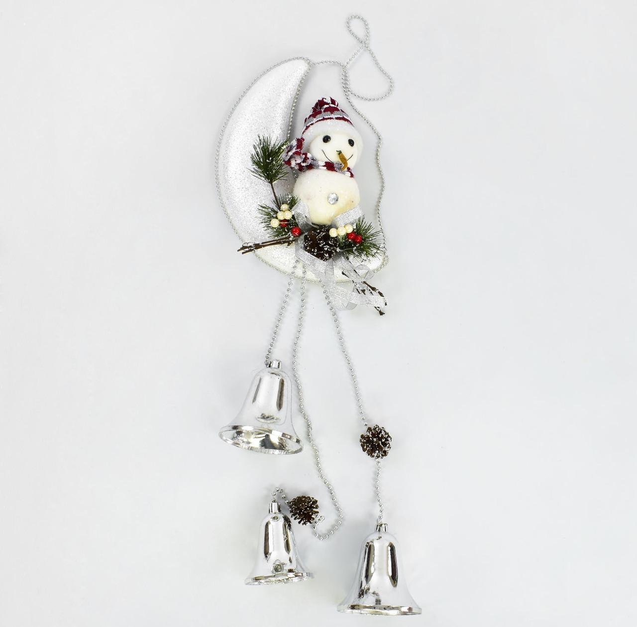 Декоративна композиція Сніговик на місяці C 30427 (60)