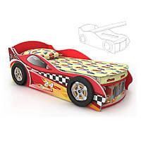 Детская кровать в форме машины Dr-11-70mp