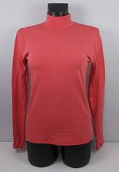 Гольф с начесом теплый Турция размер 48-52 код 1071 розовый