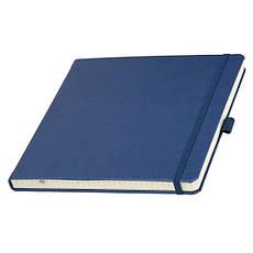 Записная книжка TUKSON SQUARE, А5, кремовый блок в клетку. Пр-во Италия. 3 цвета.