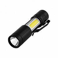 Карманный фонарик Police Torch 1501 XPE COB с USB