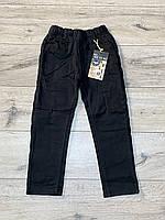 Утепленные катоновые брюки на флисе. 98 рост.
